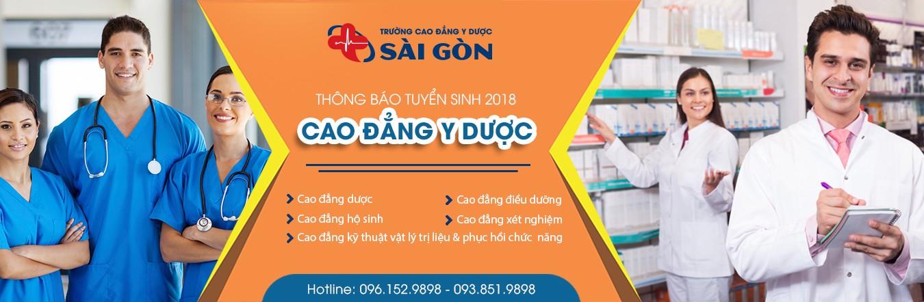 TIN TỨC: Trường Cao đẳng Y dược Sài Gòn tuyển sinh năm 2018 1
