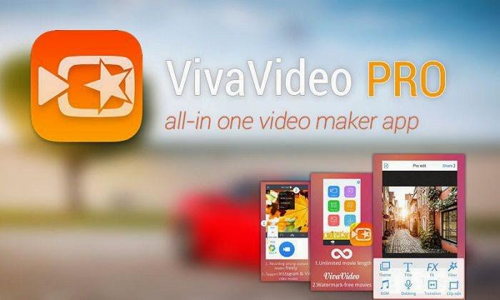 Viva Video công cụ chỉnh sửa ghép ảnh trên điện thoại